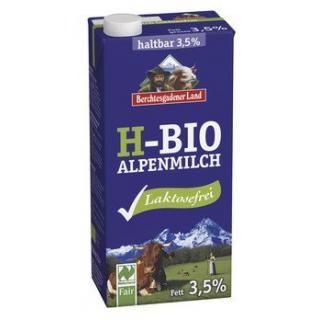Alpenmilch laktosefrei haltbar 3,5%, 1 Stück