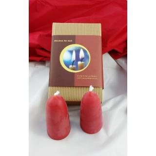 Kerze Adventskerzen rot 100x50