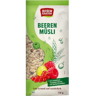 Müsli Beeren-Müsli ohne Zucker