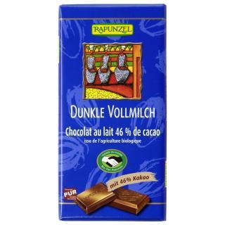 Schokolade Dunkle Vollmilch