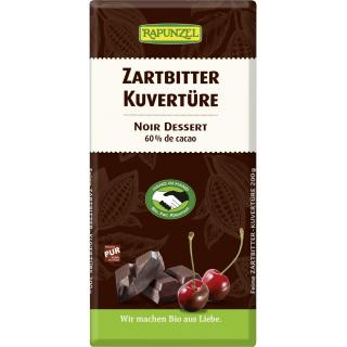 Kuvertüre Zartbitter vegan 200g