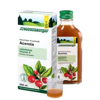 Acerola-Saft (nat. Vitamin C)
