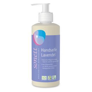 Handseife Lavendel im Spender flüssig