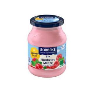 Jogurt Heidelbeer im Glas