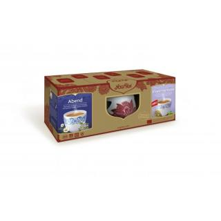 Geschenkset Yogi Tea mit Stövchen