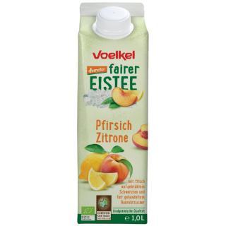 Eistee Pfirsich Zitrone 1 L