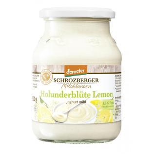 Jogurt Holunderblüte Lemon