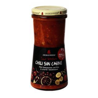 Chili sin carne im Glas