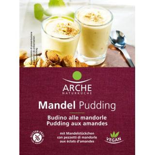 Pudding Pulver Mandel