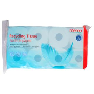 Toilettenpapier Recycling-, 3-lagig