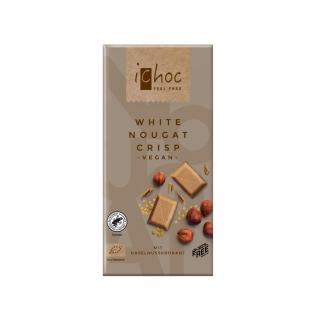 Schokolade White Nougat Crisp Rice
