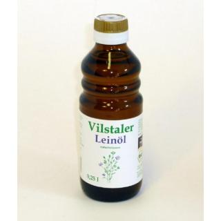 Öl Leinöl 250 ml - von Vilstaler Öle