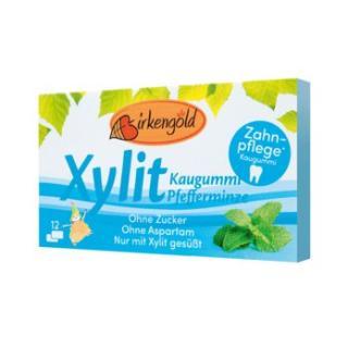Kaugummi Birkengold-Xylit Pfefferminze